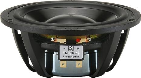 Morel Tiw 634nd Titanium Series Hybrid 6 Woofer 4 Ohm Audio Hifi