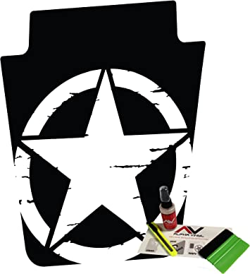 "Rear Tail light Guard Cover Lamp Trim For Jeep Wrangler TJ /""Skull logo/"""
