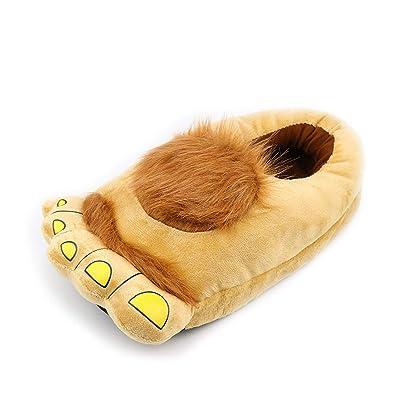 Amazon.com   Fur Slippers Flat Superstar Shoes Mixed Colors pantufas de pelucia Cotton Fabric Zapatillas   Slippers