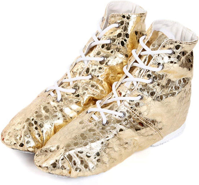 Ballet Shoes for Women Gold Silver Colors Jazz Dance Shoes Soft Split Soles Dance Boots Ballet Yoga Dance