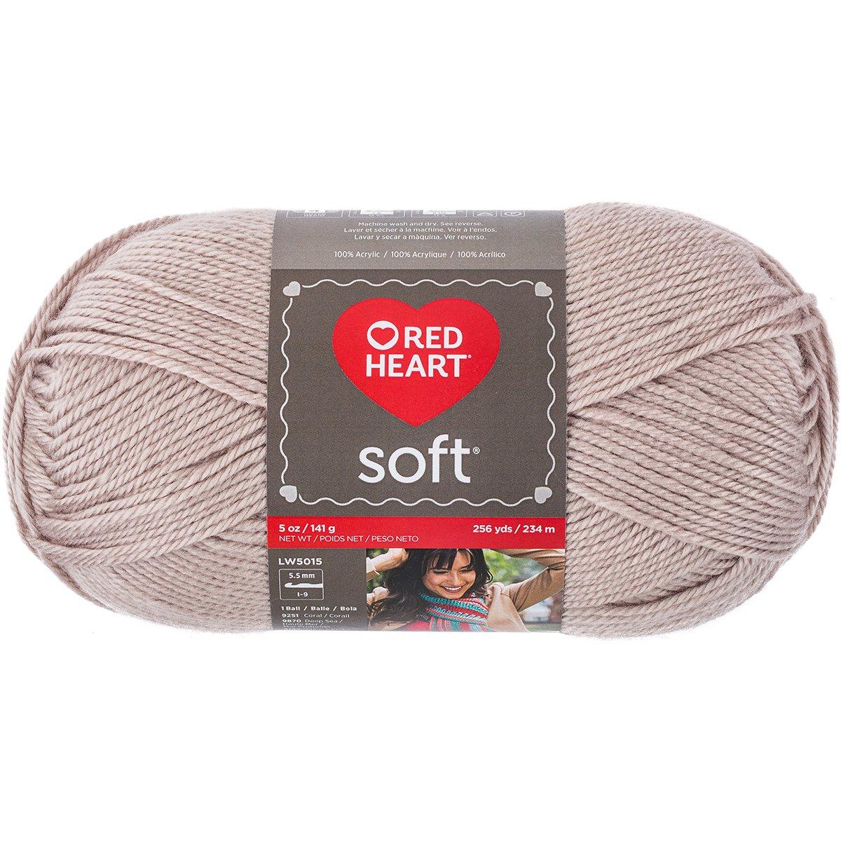 Coats: Yarn E728-9870 E728-9870 Prima Marketing Red Heart Soft Yarn, Deep Sea Coats Yarn