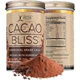 Cacao Bliss: Superfood Powder - 30 Day Supply - Organic Superfood Supplement - Raw Cacao Superfood - Boosts Metabolism - Satisfies Chocolate Cravings - Vegan