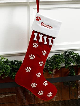 Amazon.com: MerryStockings Pet Dog Christmas Stocking: Home & Kitchen