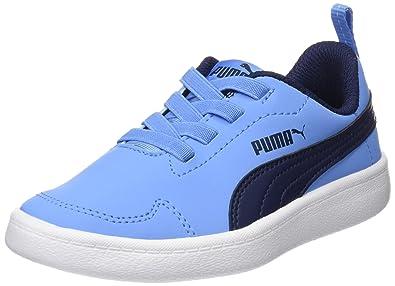 kinder puma sneaker courtflex jungen