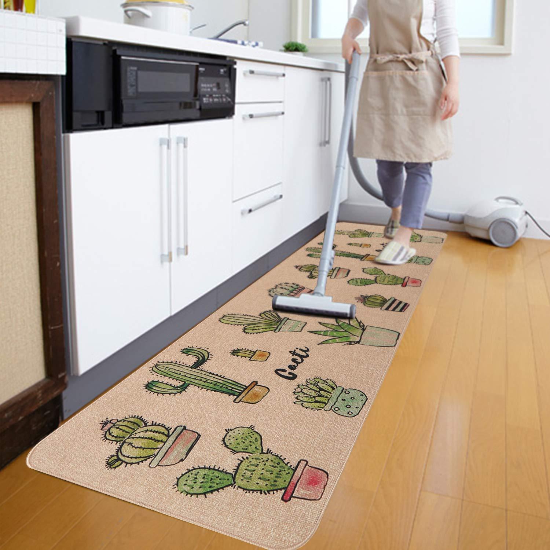 Kitchen Mat Set KIMODE 2 Piece Microfiber Kitchen Floor ...