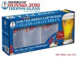 Set of 4 Russia 2018 Logos FIFA World Cup