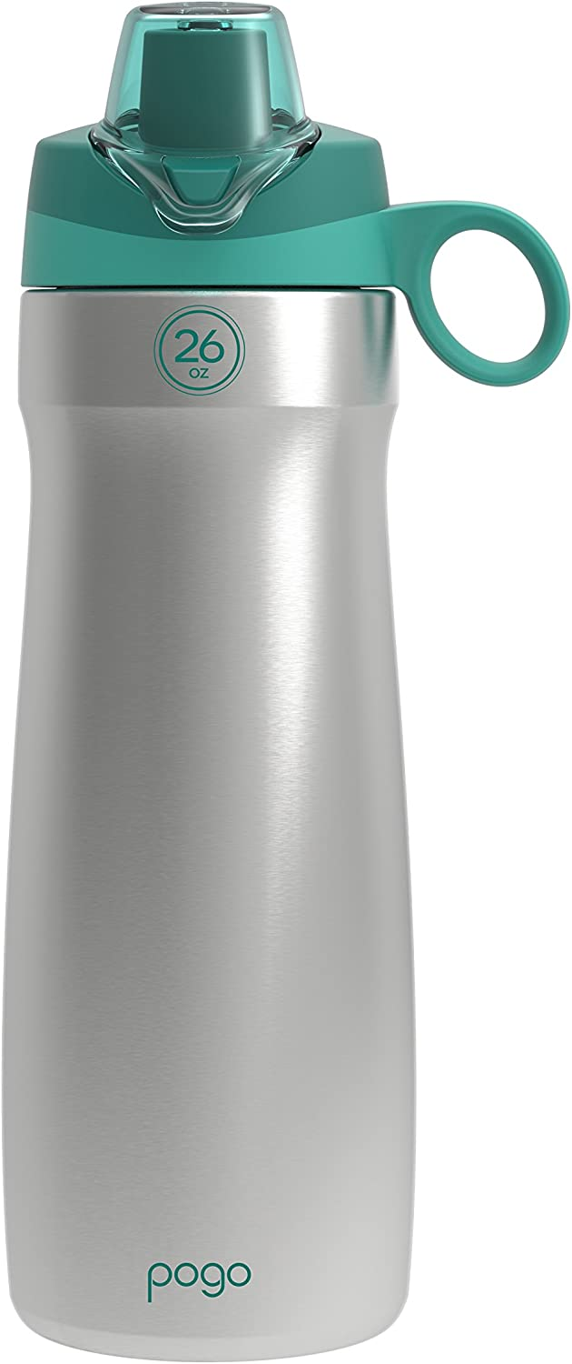 Pogo Vacuum Stainless Steel Water Bottle with Chug Lid