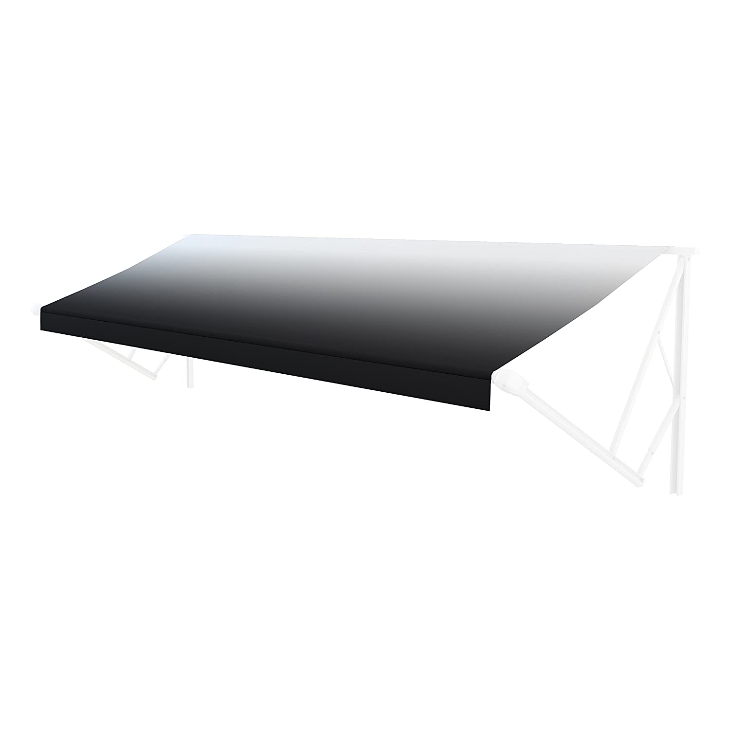 104 Fabric Black when Closed 11 Awning Solera Universal Fit Heavy-Duty Vinyl RV Patio Awning Replacement Fabric Sand Fade