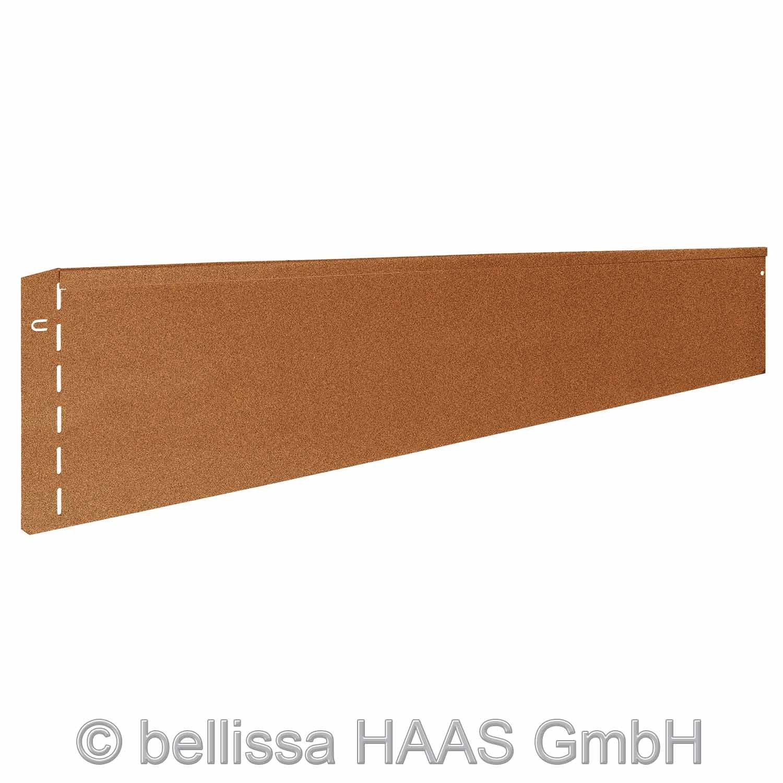 Rasenkante corten L.118 x H.20 cm (10)