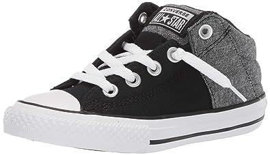 4908a4eeb5aa Converse Boys Kids  Chuck Taylor All Star Axel Cushioned Mid Top Sneaker  Black White