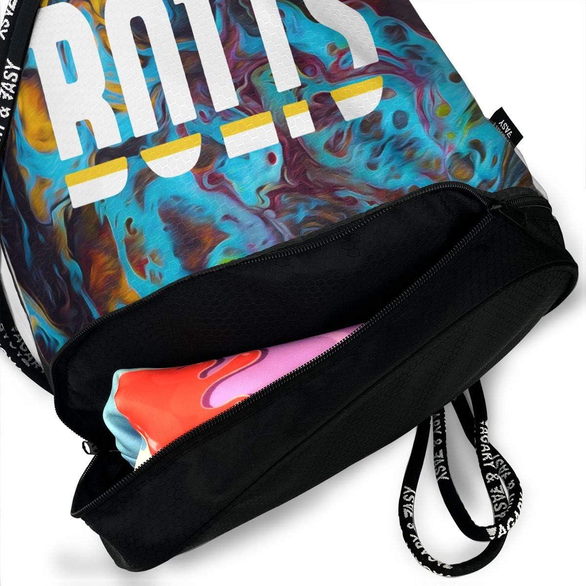 Drawstring Bag Los Angeles Bolts Gym Bag Sport Backpack Shoulder Bags Travel College Rucksack