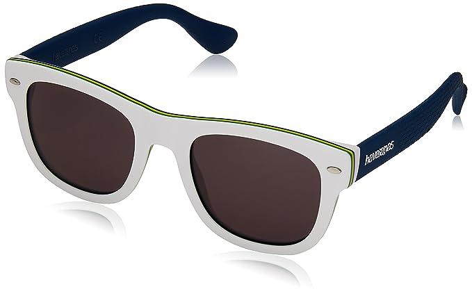 Unisex Trancoso/M Y1 O9N Sunglasses, Black/Grey Grey, 49 Havaianas