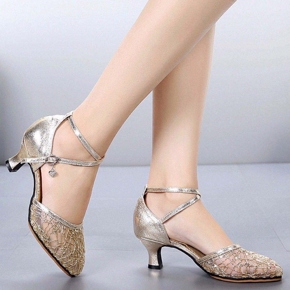 Masocking@ Damen Damen Damen Tanzschuhe Sandalen High-Heeled Sommer weichen Boden bfacd8