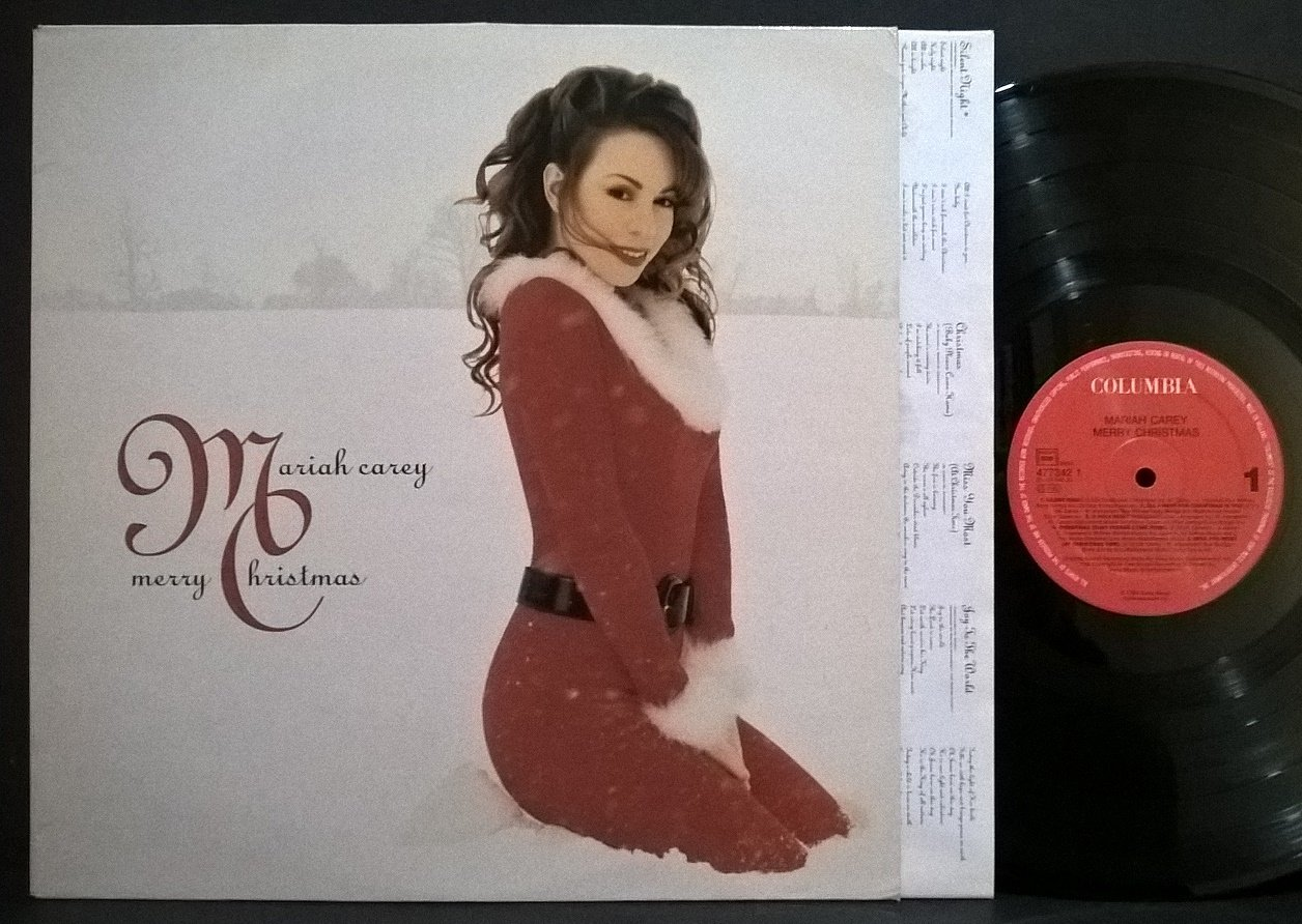 Merry Christmas [VINYL] (UK Import) [Vinyl LP] - Mariah Carey ...