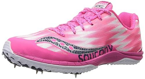 Saucony Kilkenny Spike Mujer US 9.5 Rosa Zapatos Deportivos: Amazon.es: Zapatos y complementos