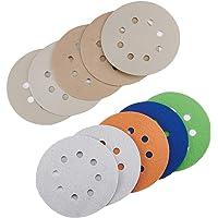 20 stuks schuurpapier 8 gaten 5 inch schuurschijven klittenbandsluiting 3000/4000/5000/7000/1000 korrels nat droog…