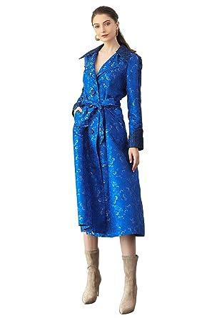 ae0073b9aa892 Amazon.com: VOA New Fall Vintage Navy Blue Windbreaker top Selling ...