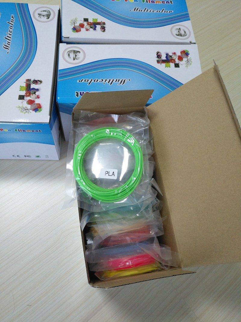 ABS Penultimate3d Pen Filament Multicolours 1.75 21 pc Box 20 colours 688.8 ft