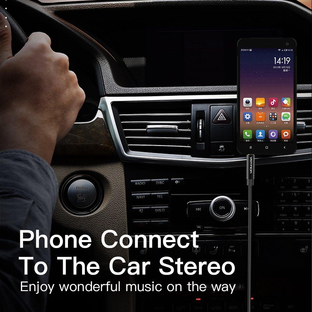 flessibile Google Pixel XL e altri smartphone con porta di tipo C 1.5m//5ft Vention a jack da 3,5 mm per Samsung Galaxy S8//S8 Plus maschio Cavo audio stereo da USB di tipo C femmina