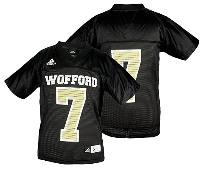 promo code 16a48 63fd5 Amazon.com: Wofford Terriers NCAA #7 Youth Replica Jersey ...