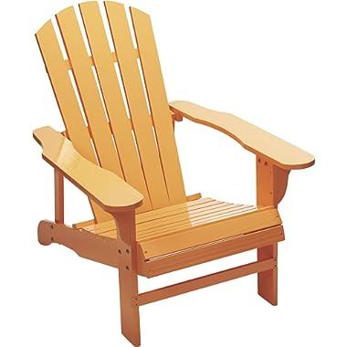 Kotulas Classic Peach Painted Wood Adirondack Chair