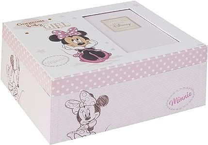 Minnie Mouse 1384 - Caja de recuerdos para bebé: Amazon.es: Bebé