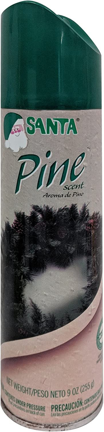 Brite Star Christmas Decorations 9 Oz Long Lasting Pine Scent Spray, White