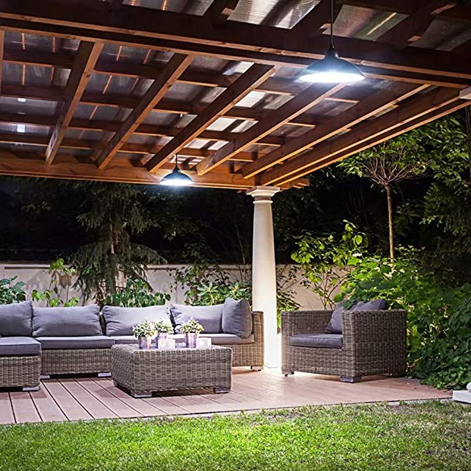 Gyj&mmm Lámpara LED Solar con luz Solar controlada a Distancia ...