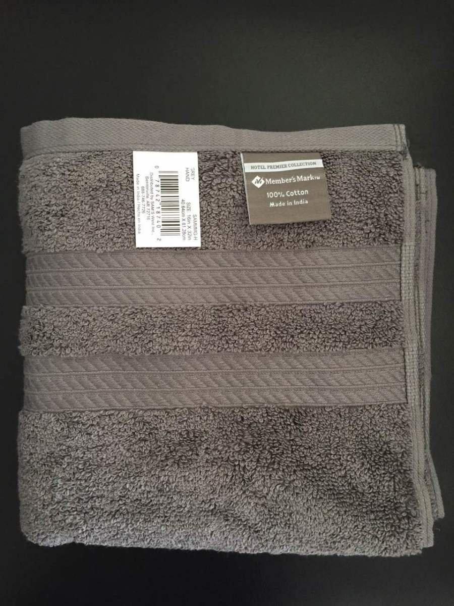 Premier Collection 100% algodón de hotel de lujo toalla de mano (16 en X 32 en: Amazon.es: Hogar