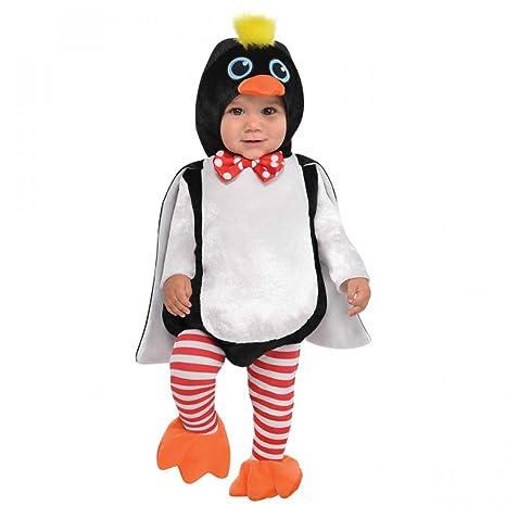 moda qualità affidabile forma elegante Pinguino Bambini Costume animale uccello ZOO bimbo bambino costume NUOVO -  Nero, 0-6 mesi