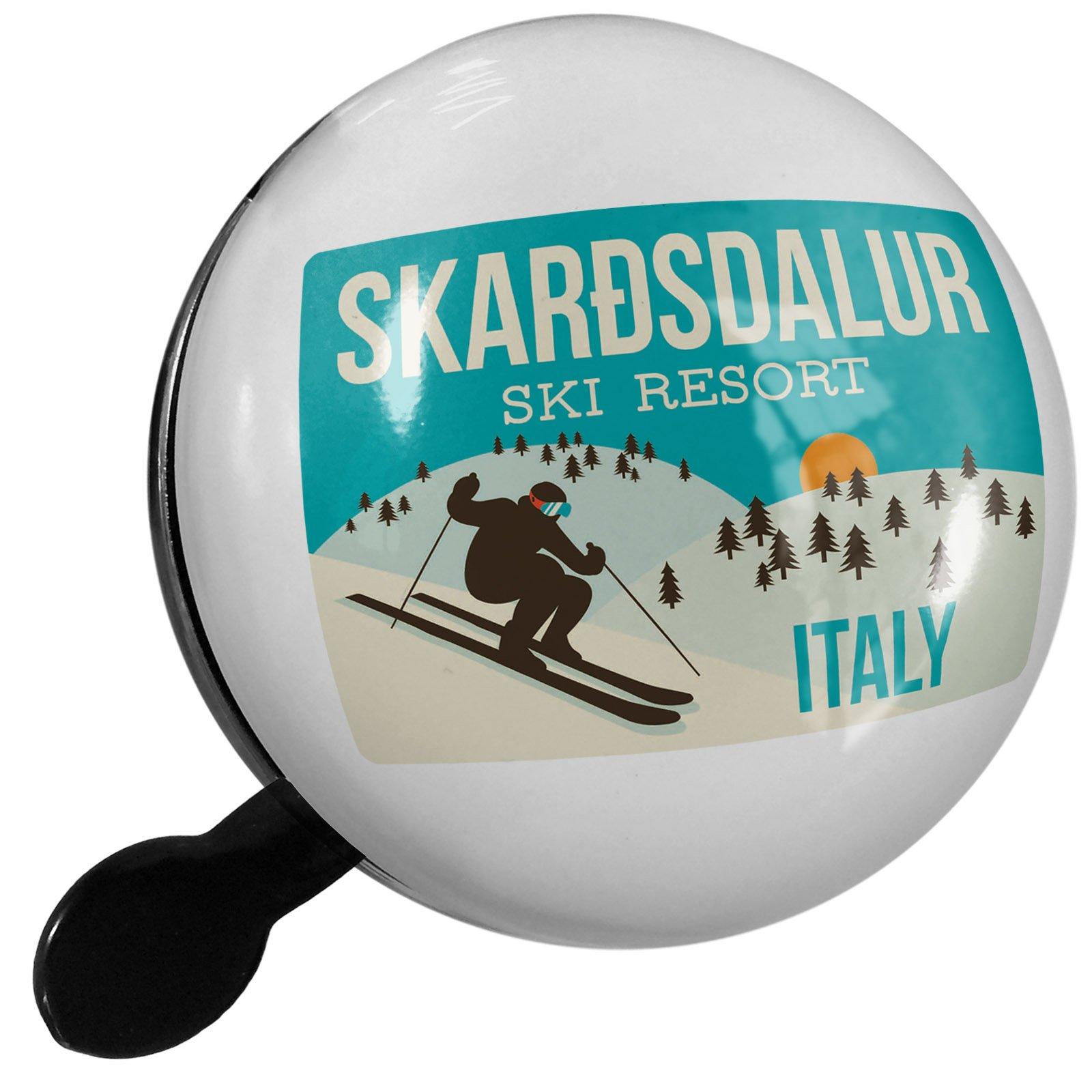 Small Bike Bell Skarðsdalur Ski Resort - Italy Ski Resort - NEONBLOND