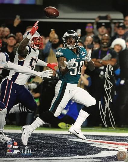 buy online d1d63 63a2b Corey Clement Signed Philadelphia Eagles Super Bowl LII ...