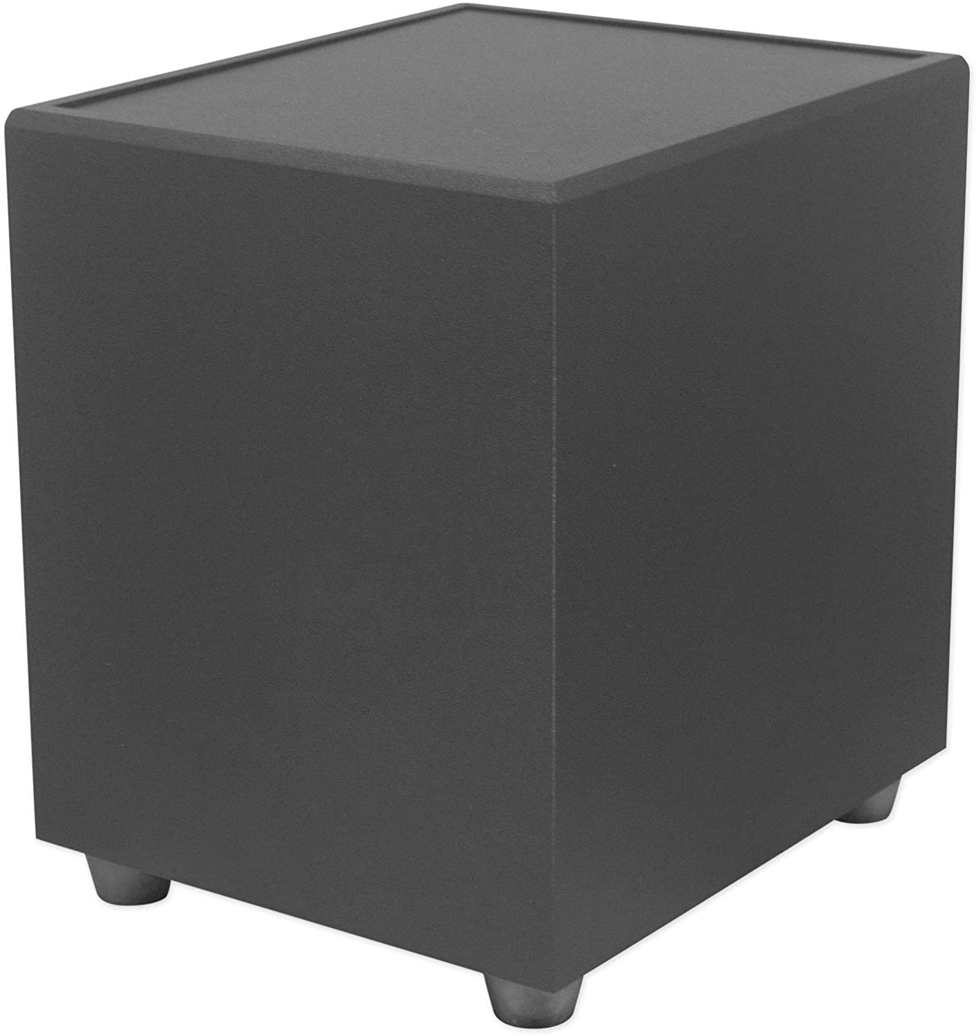 """Rockville CT8-SUB 8"""" Black 400w Home Audio Sub Home Theater Subwoofer"""