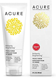 product image for ACURE Brightening Facial Scrub, 4 Ounce by Acure, Packaging May Vary