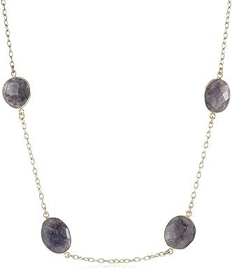 Amazoncom in2 design Cecilia Iolite Necklace Jewelry