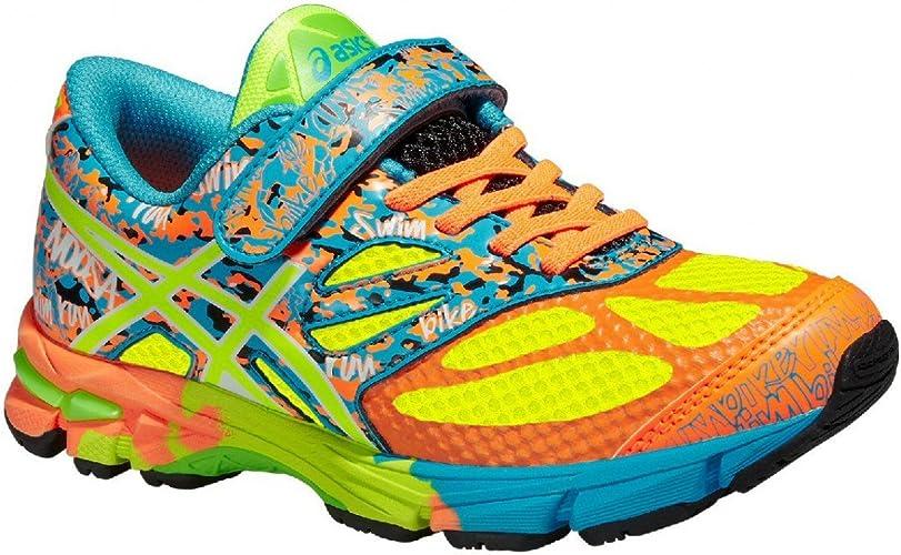 ZAPATILLAS ASICS NOOSA TRI 10 KIDS NIÑO VELCRO (TALLA 34.5) Talla 34.5: Amazon.es: Zapatos y complementos