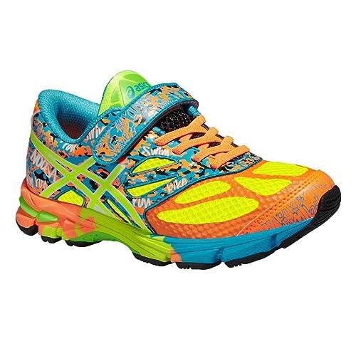 794965f638b ZAPATILLAS ASICS NOOSA TRI 10 KIDS NIÑO VELCRO (TALLA 34.5) Talla 34.5   Amazon.es  Zapatos y complementos