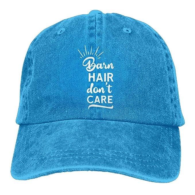 Roman Lin Béisbol Jeans Gorra Barn Hair No te Preocupes Mujeres ...