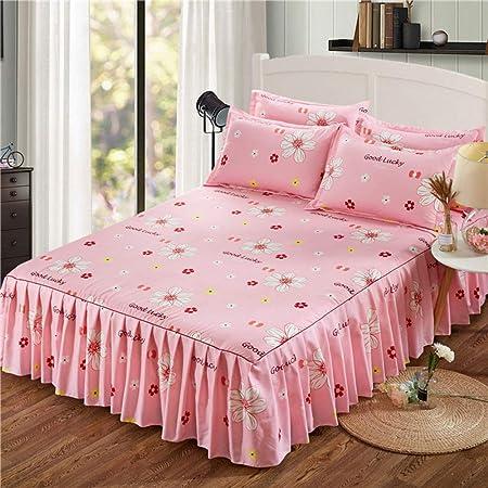 Se Utiliza para Textiles para el hogar Cama de la Falda Cubierta ...