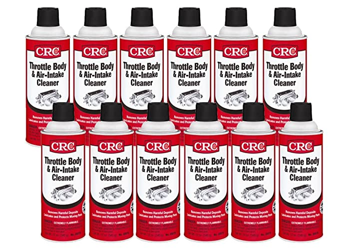 CRC 05078 Throttle Body and Air-Intake Cleaner - 12 Wt Oz
