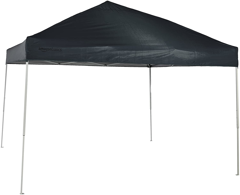 Pop Up Canopy Tent >> Amazonbasics Pop Up Canopy Tent 10 X 10 Foot Grey