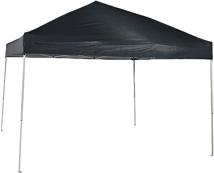 Image Unavailable  sc 1 st  Amazon.com & Amazon.com : AmazonBasics Pop-Up Canopy Tent - 10u0027 x 10u0027 Grey ...