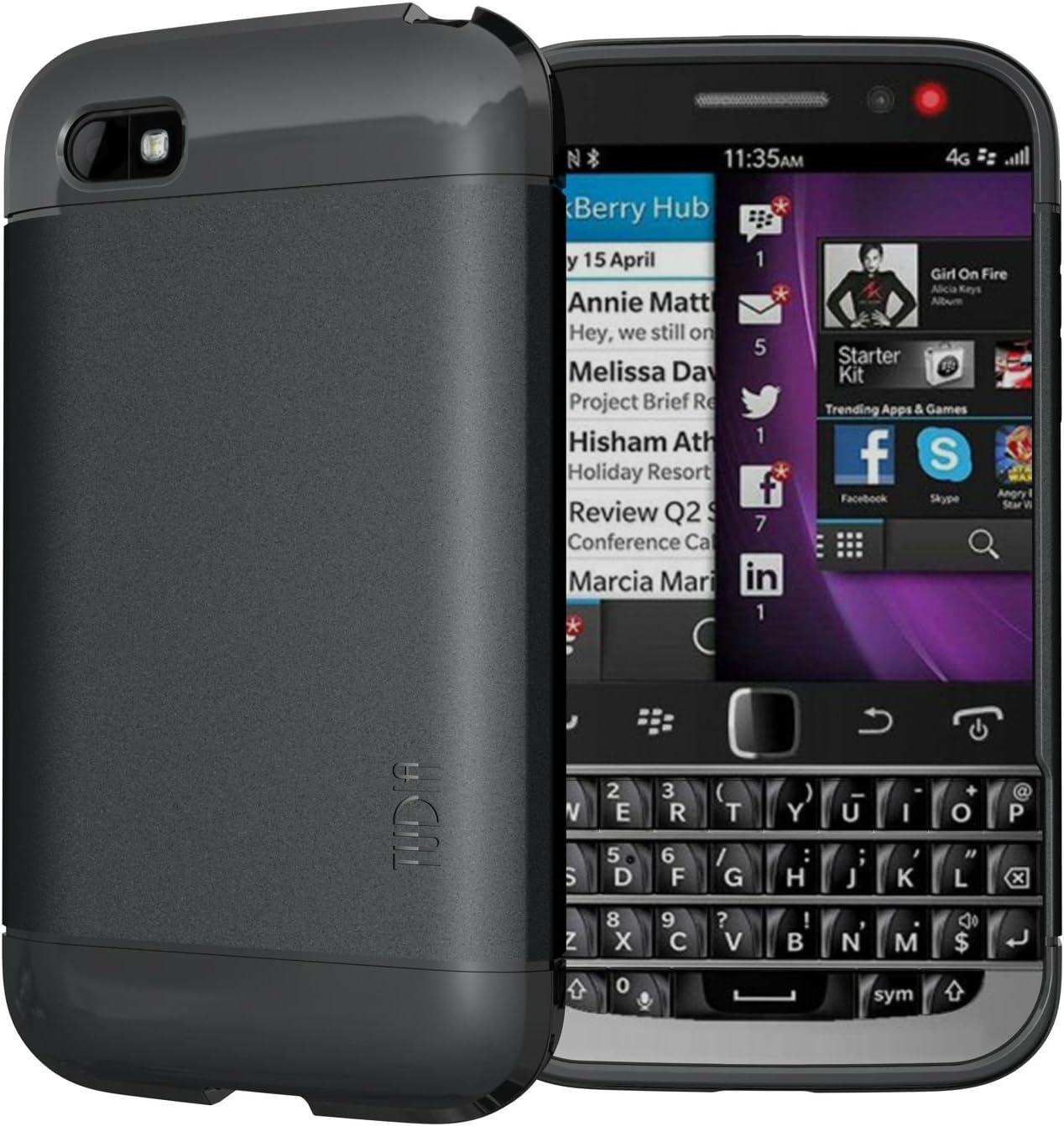 TUDIA Blackberry Classic Smartphone Funda, Ultra Delgado Lite TPU ...