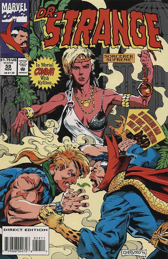 Doctor Strange: Sorcerer Supreme #59 VF/NM ; Marvel comic book