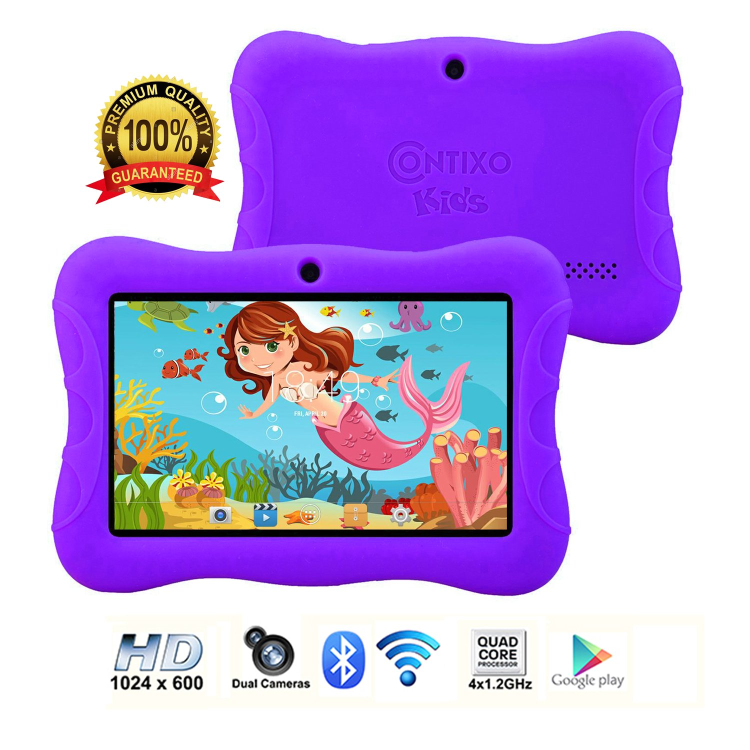 "Contixo 7"" Kids Tablet 