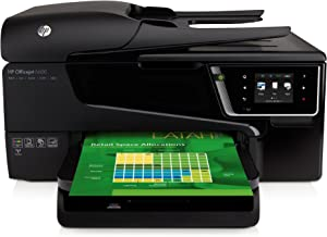 HP Officejet 6600 e-All-in-One Wireless Color Photo Printer with Scanner, Copier and Fax,Black