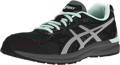 ASICS - Zapatillas para Correr en montaña de Material Sintético para Mujer Hampton Green/Silver/Glacier Sea, Mujer, Hampton Green/Silver/Glacier Sea, 4 UK: Amazon.es: Deportes y aire libre