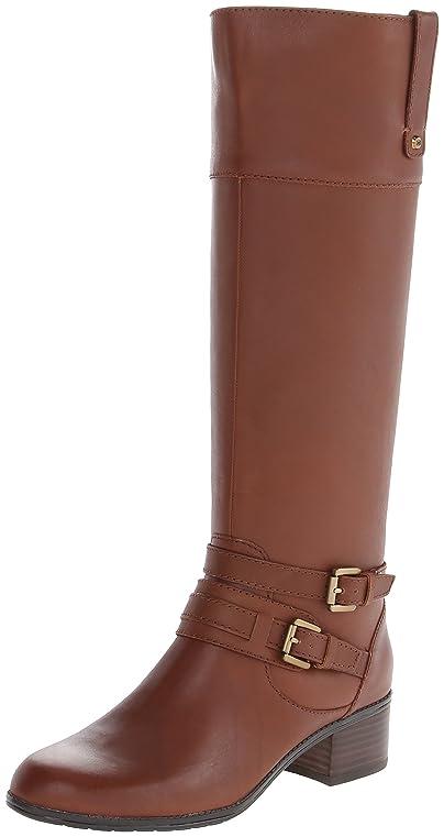 4db511e04ac Bandolino Women's Cavendish Wide-Calf Leather Riding Boot