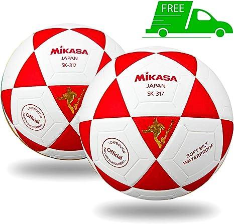 Mikasa SK-317 - Balón de fútbol para Interiores (2 Unidades ...