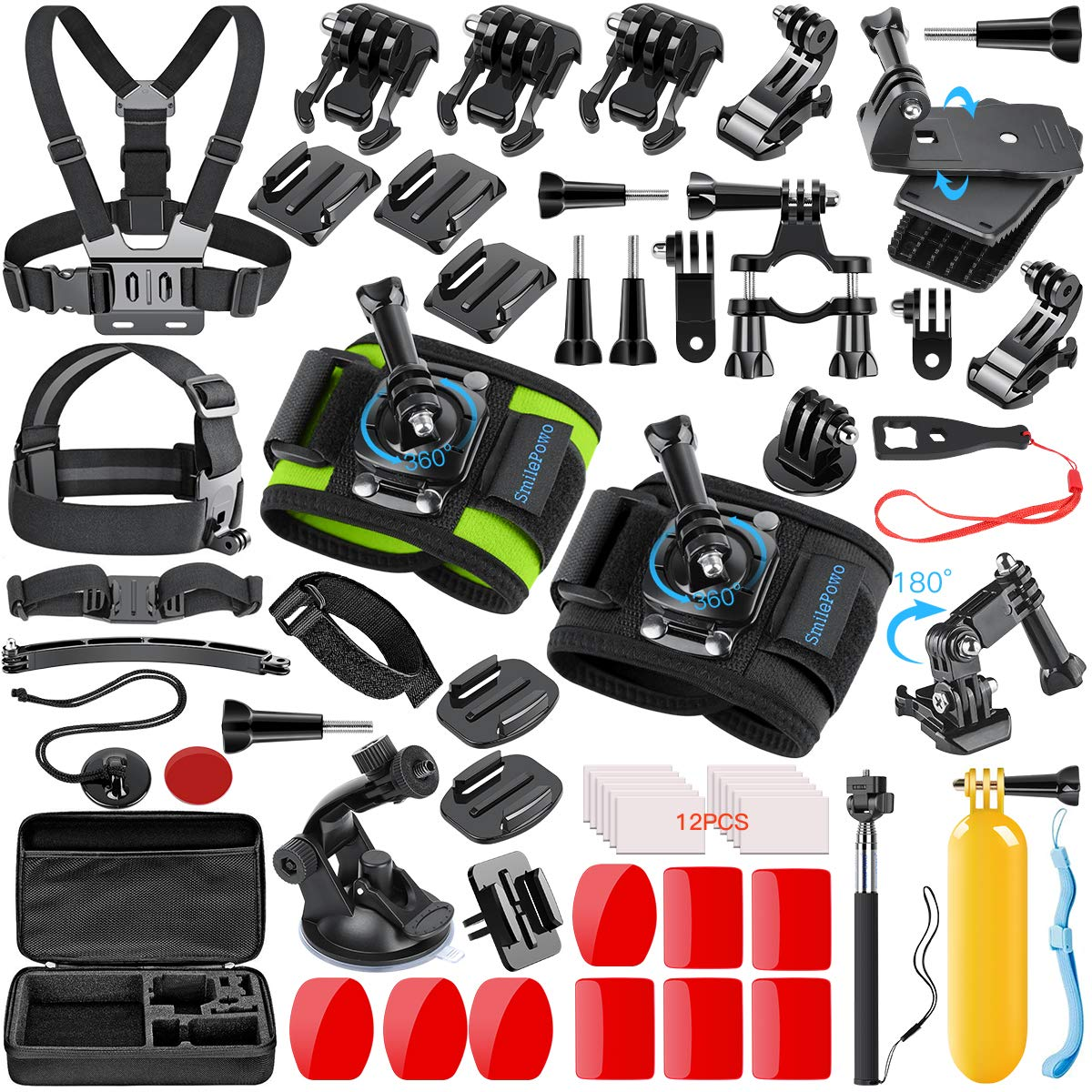 Xiaoyi and Other Action Cameras Cell Phones Hsifeng DJI New Action Hsifeng Portable Folding Plastic Tripod for GoPro New Hero //HERO7 //6//5 //5 Session //4 Session //4//3+ //3//2 //1